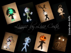 Lizzzie by Lisa Costa- Sock Dolls and more voodoo dolls