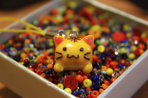 Neko Hime Shop gatto kawaii fimo