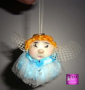 Very Sweet Creations pupazzo angelo handmade